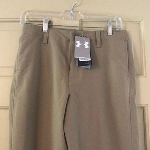 Under Armour Bottoms - Boys Youth Large Under Armor Golf Pants